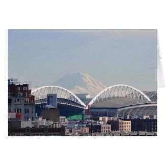 Carte Le mont Rainier de Seattle