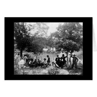 Carte Le monument national du soldat à Gettysburg, PA