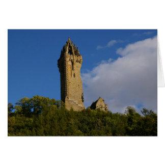 Carte Le monument Stirling Ecosse de Wallace