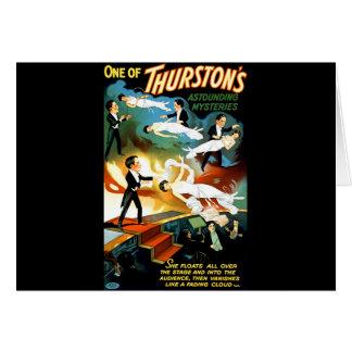 Carte Le mystère stupéfiant de Thurston !