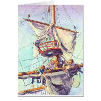 Carte Le NID de CORNEILLE par SHARON SHARPE