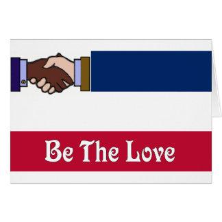 Carte Le nouveau Mississippi : Soyez l'amour