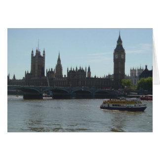Carte Le Parlement et Big Ben