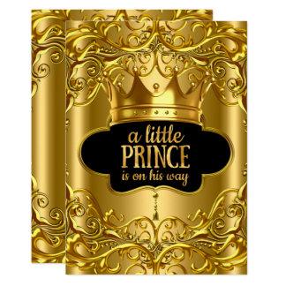 Carte Le petit prince est sur son baby shower de manière