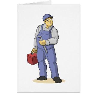 Carte Le plombier