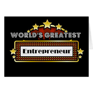 Carte Le plus grand entrepreneur du monde