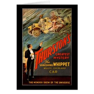 Carte Le plus grand mystère de Thurston