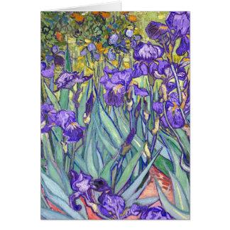 Carte Le pourpre de Vincent van Gogh irise des