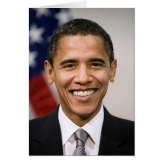 Carte Le Président Barack Obama