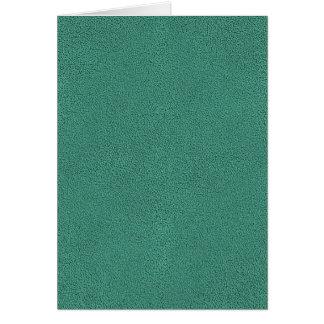 Carte Le regard confortablement de la texture turquoise