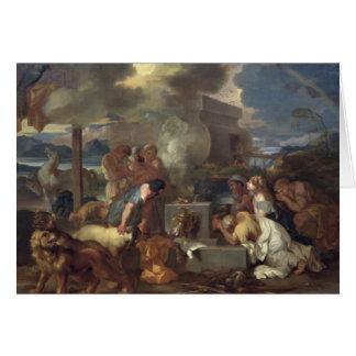 Carte Le sacrifice de Noé, c.1640
