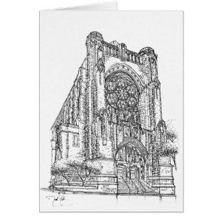 Carte Le Saint Vincent Ferrer | New York