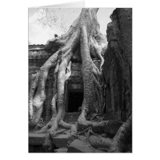 Carte Le Siam récoltent, le Cambodge. Juste en dehors de