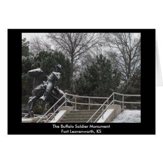 Carte Le soldat MonumentFort Leav de Buffalo…
