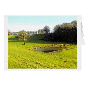 Carte Le soleil d'automne à Somerset