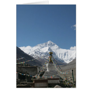 Carte Le Thibet Everest/photo du Thibet