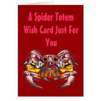 Carte Le totem d'araignée