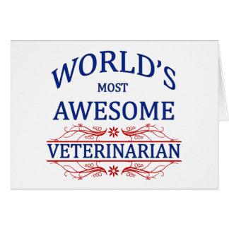 Carte Le vétérinaire le plus impressionnant du monde
