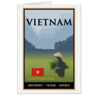 Carte Le Vietnam