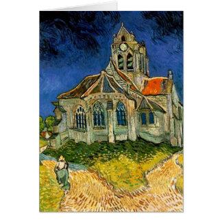 Carte L'église chez Auvers par Vincent van Gogh