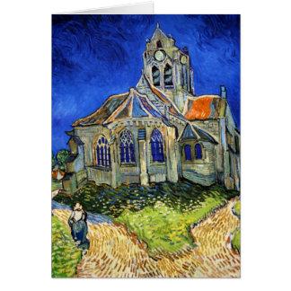 Carte L'église chez Auvers : Vincent van Gogh