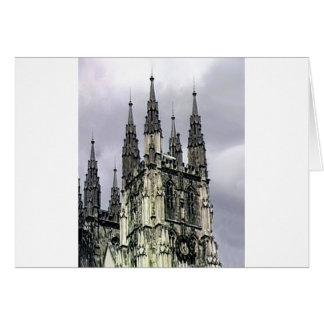 Carte L'église de l'Angleterre Cantorbéry se développe