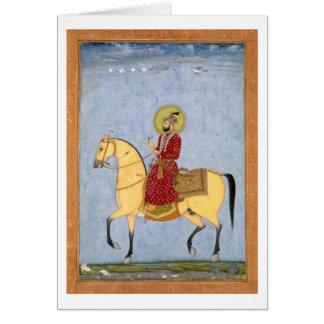 Carte L'empereur Farrukhsiyar (1683-1719) de Mughal