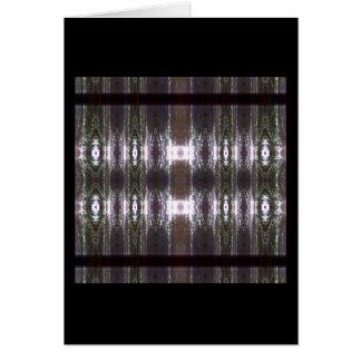 Carte Lentilles dans le miroir