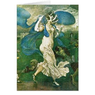 Carte Léon Bakst - art de Russes de ballet de déluge