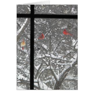 Carte Les amis bénis de l'hiver