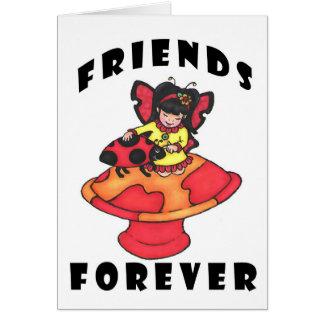 Carte Les amis cardent pour toujours