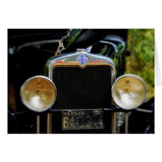Carte les années 1930 Chevy