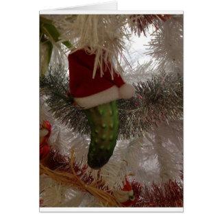 Carte Les conserves au vinaigre de Noël