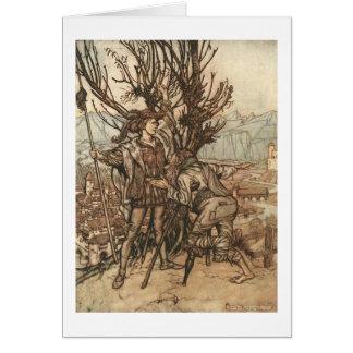 Carte Les contes de fées de Grimm (blanc à l'intérieur)