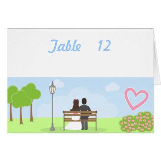 Carte Les couples de mariage dans le nombre de Tableau