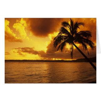 Carte Les Etats-Unis, Hawaï, Kauai, lever de soleil