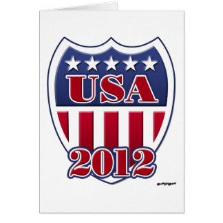 Carte Les Etats-Unis protègent 2012