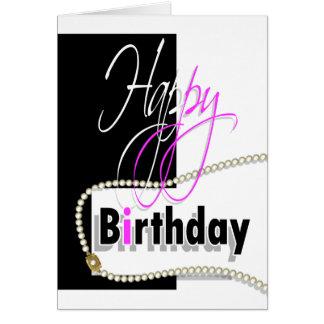 """Carte Les filles """"sweet sixteen"""" de joyeux anniversaire"""