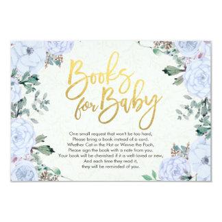 Carte Les livres de baby shower pour le bébé/apportent
