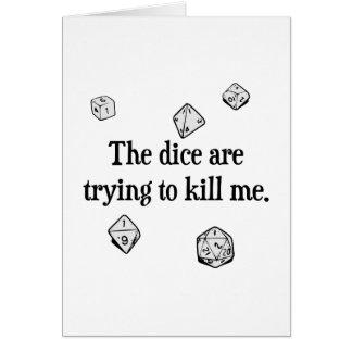 Carte Les matrices essayent de me tuer