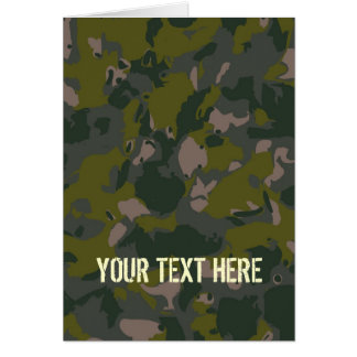 Carte Les militaires camouflent