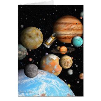 Carte Les mondes de Kepler
