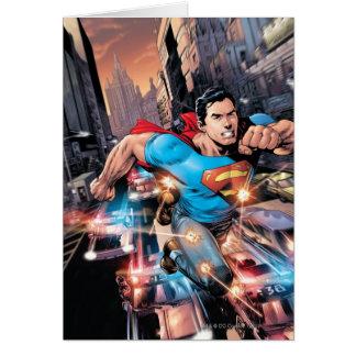 Carte Les nouveaux 52 - Superman #1 2