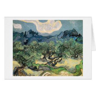 Carte Les oliviers, Vincent van Gogh