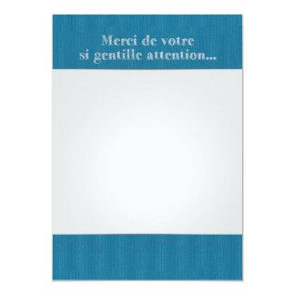 Carte Lettre Remerciements Original Nours Collection