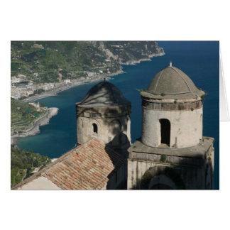 Carte L'Europe, Italie, Campanie, (côte d'Amalfi), 3