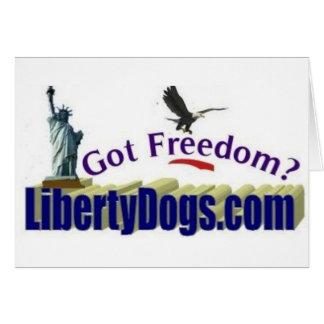 Carte Liberté obtenue ?