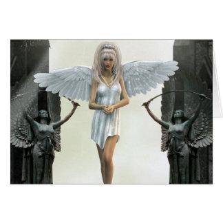 Carte L'imaginaire d'ange de garde-porte