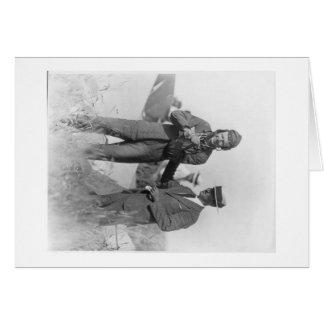 Carte Lindbergh avec l'épaule disloquée