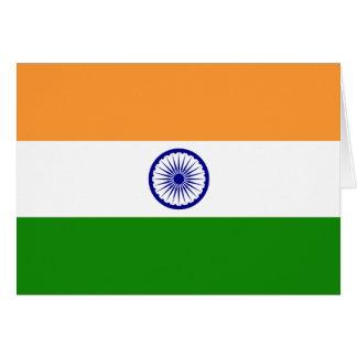 Carte L'Inde ; Drapeau indien